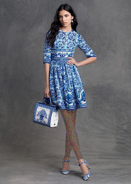 جدیدترین لباس های زنانه برند دی اند جی,مدل بلوز و دامن زنانه