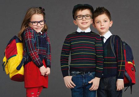 لباس زمستانی بچگانه دولچه و گابانا, طراحی لباس دولچه و گابانا