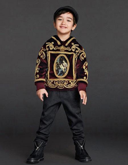 مدل لباس بچگانه, لباس های برند دولچه و گابانا