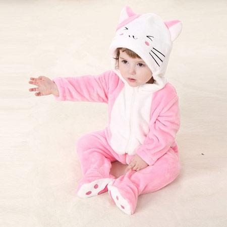 لباس نوزادی حیوانات