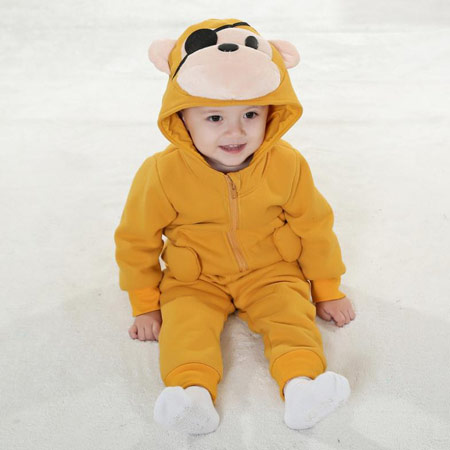 لباس پاییز و زمستانی بچه گانه, لباس های سرهمی بچه گانه
