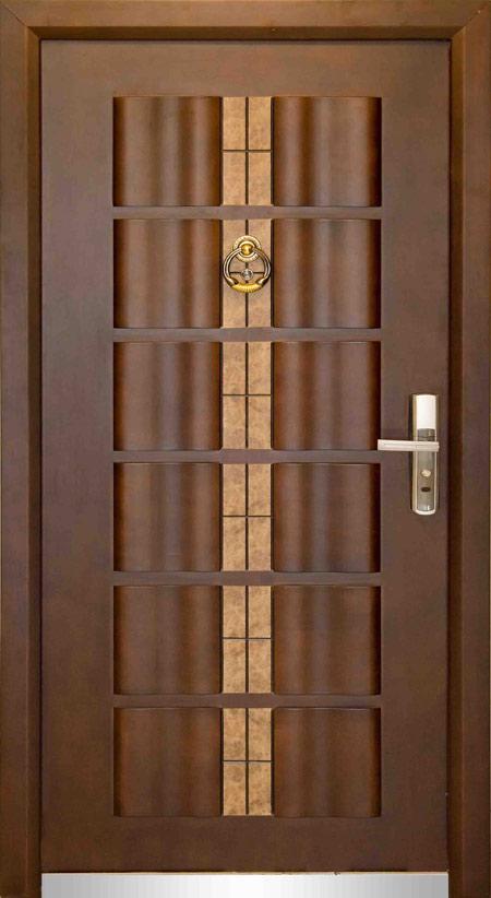 مدل در ورودی ضد سرقت, درب چوبی ضد سرقت