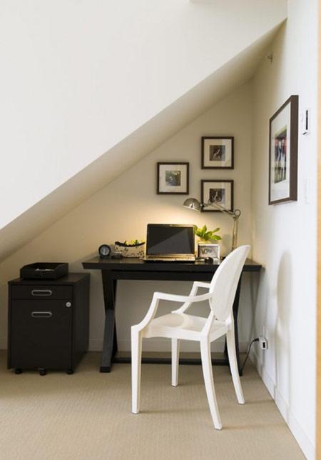 اتاق کار زیر راه پله ها, طراحی اتاق کار زیر راه پله