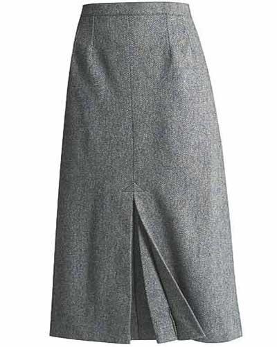 عکس مدل دامن بلند شیک باکلاس مارک دار