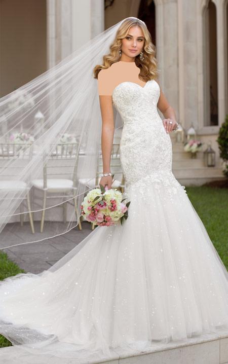ویسگون مدل لباس عروس نباتی ویسگون, مدل پیراهن عروس ویسگون دکلته