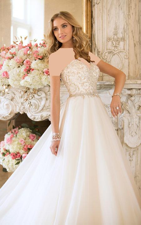 ویسگون لباس عروس, ویسگون شیک ترین مدل لباس عروس