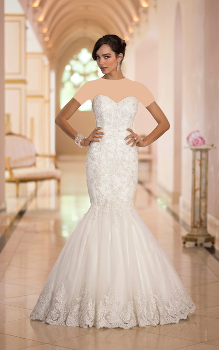 ویسگون لباس عروس 2016,ویسگون جدیدترین لباس های عروس