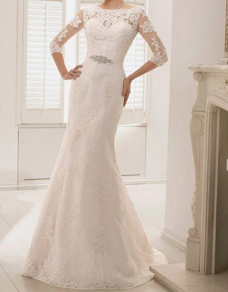 مدل پیراهن عروس دکلته, لباس عروس های گیپوری