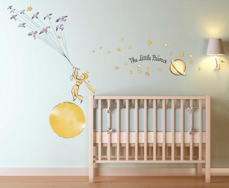 خانه ای با تم شازده, طراحی فضای اتاق کودک