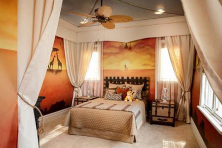 چیدمان متفاوت اتاق خواب,دکوراسیون داخلی اتاق کودکان