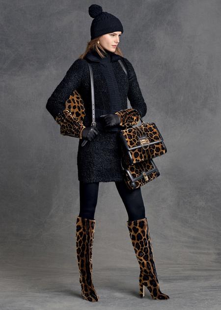 لباس زنانه دی اند جی برای زمستان 2016,لباس زنانه برند D&G