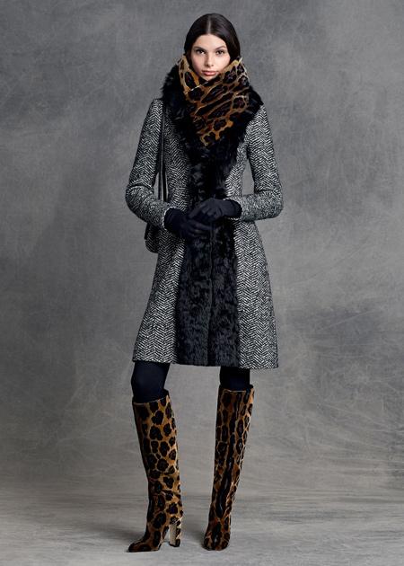 لباس زنانه برند دی اند جی,لباس زمستانی زنانه برند دی اند جی