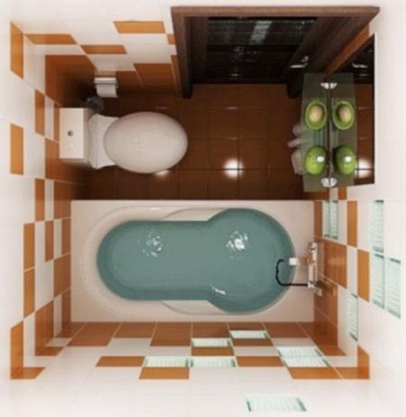 دکوراسیون های کوچک,طراحی سرویس بهداشتی های کوچک