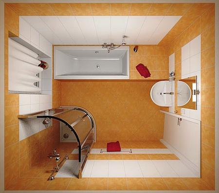 ایده های حمام های کوچک,دکوراسیون حمام های کوچک