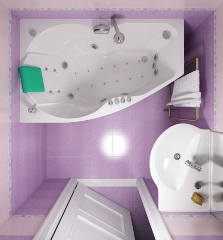 دکوراسیون سرویس بهداشتی های کوچک, حمام و سرویس بهداشتی های کوچک