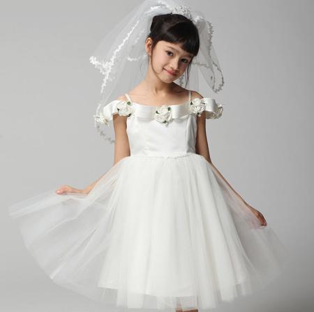 لباس دخترانه مجلسی, شیک ترین لباس عروس بچگانه