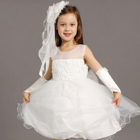 مدل لباس عروس بچه گانه,لباس مجلسی بچه گانه