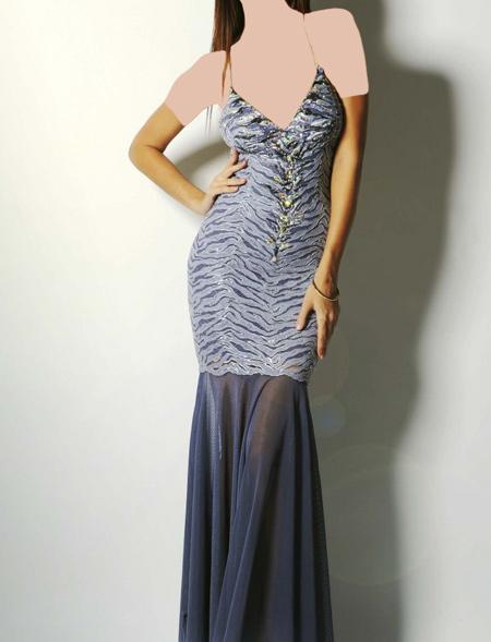 لباس های مجلسی کارشده, مدل لباس شب زنانه