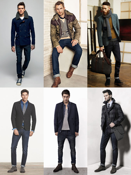تکنیک هایی برای پوشش آقایان, اصولی برای شیک پوشی