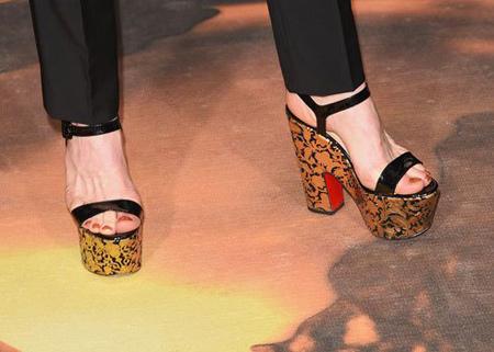 تصاویر کفش های ستارگان در مراسم گلدن گلوب, مدل کفش ستارگان در مراسم گلدن گلوب
