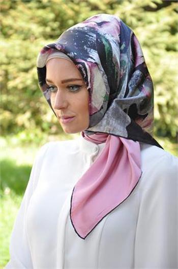روسری ابریشمی ترک 95, شیک ترین مدل روسری 2016