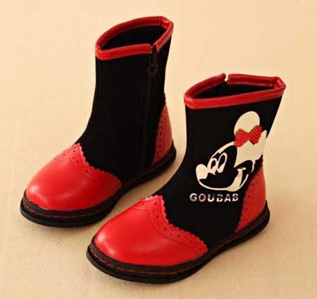 جدیدترین بوتین های بچگانه 95, کفش های دخترانه زمستان 2016