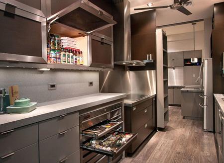 طراحی کابینت گوشه ای,دکوراسیون آشپزخانه