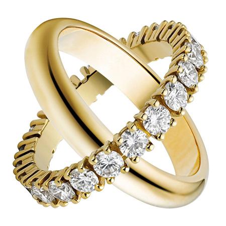 حلقه های جفت نامزدی, مدل حلقه های جفتی نامزدی