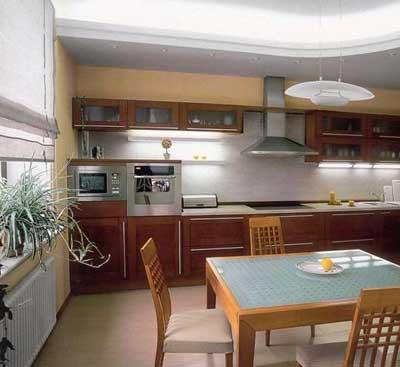 نور پردازی در آشپزخانه امروزی