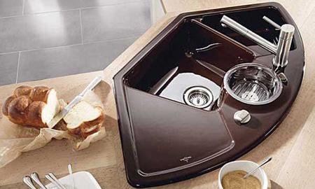طراحی سینک های جدید آشپزخانه, ساخت و خرید سینک های ظرفشویی