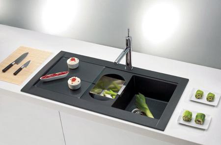 طراحی سینک های ظرفشویی مدرن, جدیدترین مدل سینک مشکی