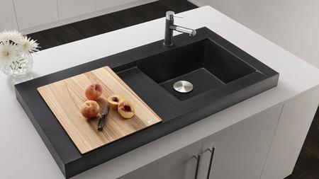 جدیدترین سینک های قهوه ای, طراحی سینک های جدید آشپزخانه