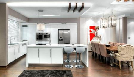 جدیدترین دکوراسیون های آشپزخانه, رنگ های متفاوت آشپزخانه