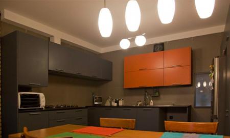 رنگ های متفاوت آشپزخانه, متفاوت ترین دکوراسیون آشپزخانه