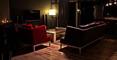 نکاتی برای خرید مبل و کاناپه جلوی تلویزیون, مبلمان L شکل برای جلوی تلویزیون