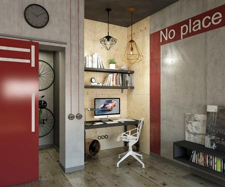 استفاده از رنگ قرمز در خانه به سبک های مختلف, استفاده از رنگ قدرت در دکوراسیون