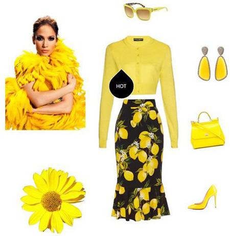 ست کردن لباس بهاری به سبک جنیفر لوپز, ست کردن لباس بهاری جنیفر لوپز