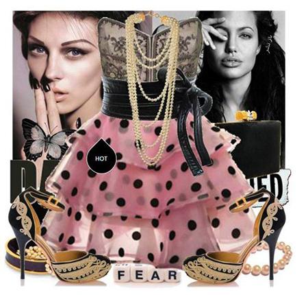 مدل ست کردن لباس شب به سبک آنجلینا جولی, ست کردن لباس شب به سبک آنجلینا جولی