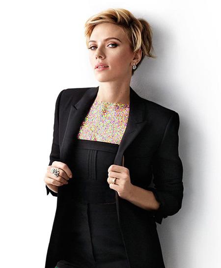 عکسهای اسکارلت جوهانسون روی مجله Cosmopolitan,تصاویر اسکارلت جوهانسون روی مجله Cosmopolitan