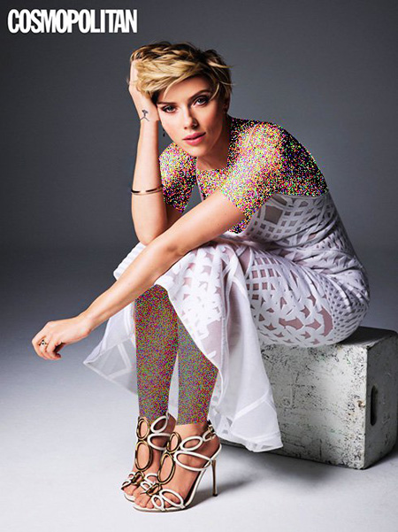 عکس های جدید اسکارلت جوهانسون Scarlett Johansson روی مجله Cosmopolitan