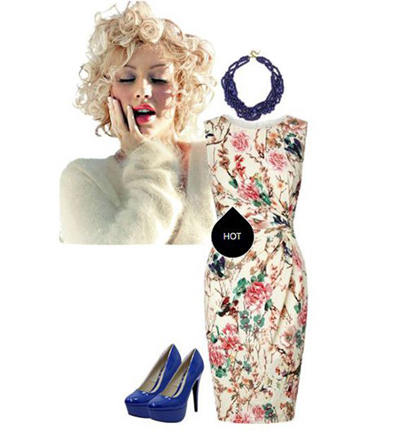 لباس های کریستینا اگیلرا, لباس بهاری کریستینا اگیلرا