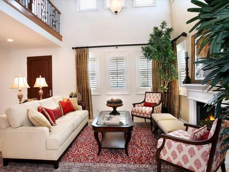 راهنمای ست کردن مبل با فرش قرمز, روش ست کردن مبل با فرش قرمز