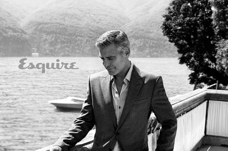 عکس های جدید جرج کلونی,عکس های جدید جرج کلونی روی مجله اسکوئر