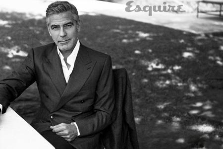 تصاویر جرج کلونی روی مجله اسکوئر, تصاویر George Clooney روی  مجله اسکوئر Esquire