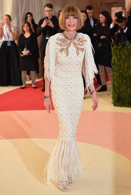 ستارگان هالیوودی در مراسم مت گالا, مدل لباس در مراسم مت گالا 2016