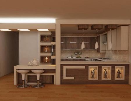 انتخاب بهترین جنس کابینت آشپزخانه
