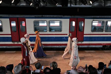 عکس هایی از مدلینگ ها در هفته مد در استانبول, مدلینگ های اسلامی در استانبول