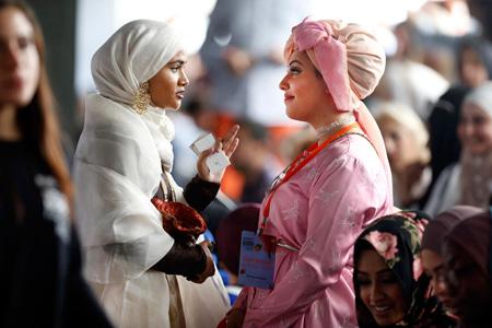 مدلینگ های اسلامی در استانبول,هفته مد بین المللی اسلامی