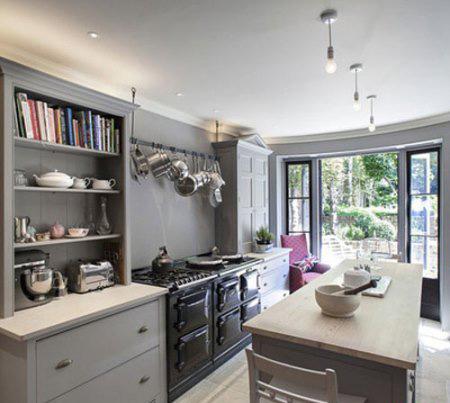 ساخت مکانی برای قابلمه ها با وسایل دور ریختنی, چیدمان آشپزخانه های کوچک