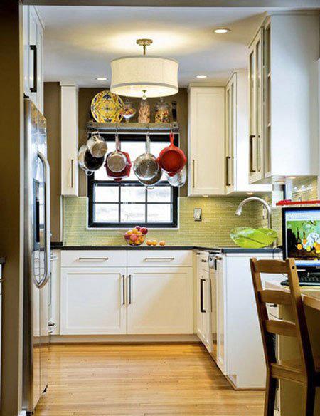 تهیه جایی برای قابلمه ها,جا دادن قابلمه و ماهی تابه در آشپزخانه های کوچک